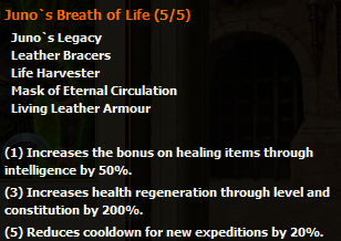 Juno's Breath of Life stats