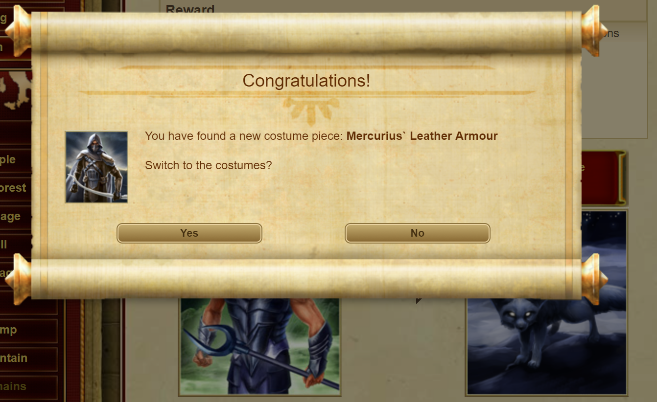 Mercurius' Robber's Garments drop