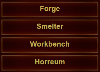 Horreum in menu