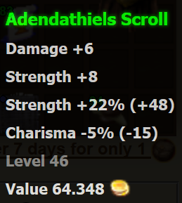 Adendathiels Scroll