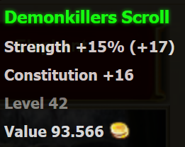 Demonkillers scroll