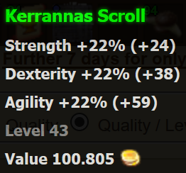 Kerrannas Scroll
