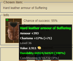 Chest armour of Suffering