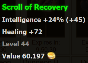 of Recovery