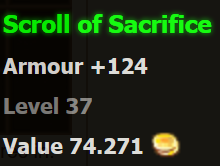 of Sacrifice
