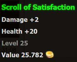 of Satisfaction