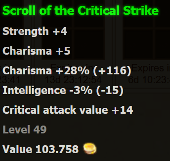 of the Critical Strike