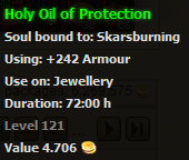 Holy Oil of Protection