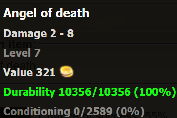Angel of death stats