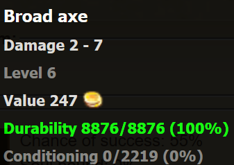 Broad Axe stats