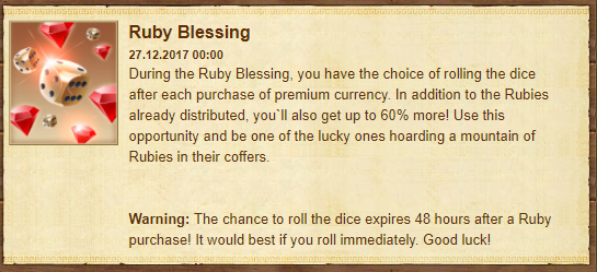 Ruby Blessing event