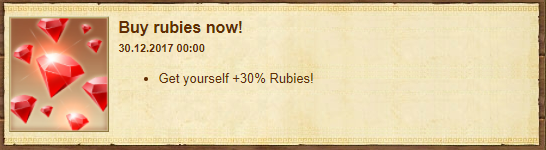 Ruby event -30% discount