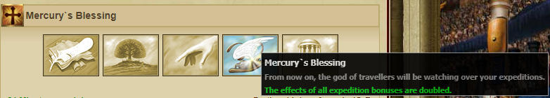 Mercury's Blessing bonus